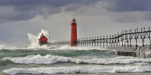 Grand Haven Lighthouse, Grand Haven Michigan | by Michigan Nut