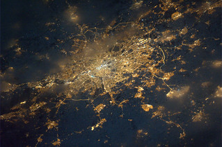 London as seen from ISS | by europeanspaceagency