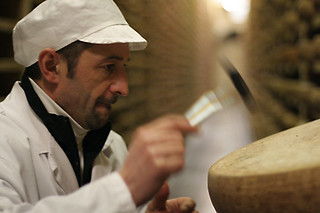 tapping cheese | by David Lebovitz