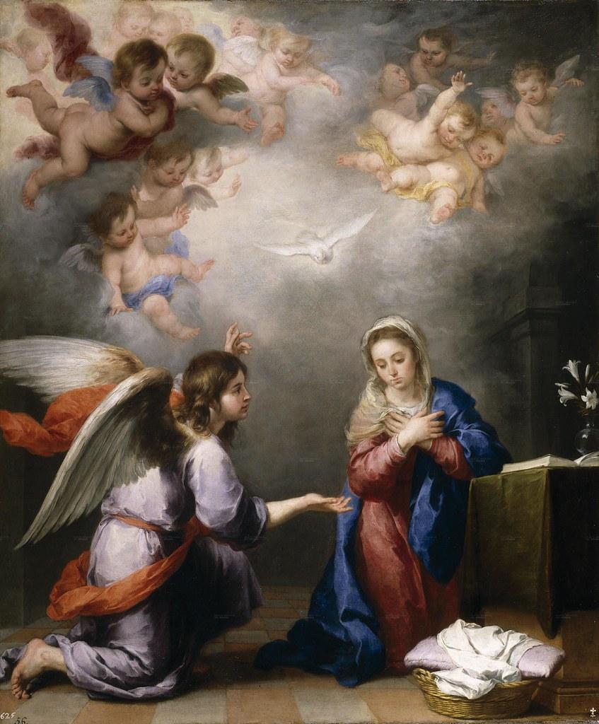 Murillo - La Anunciación