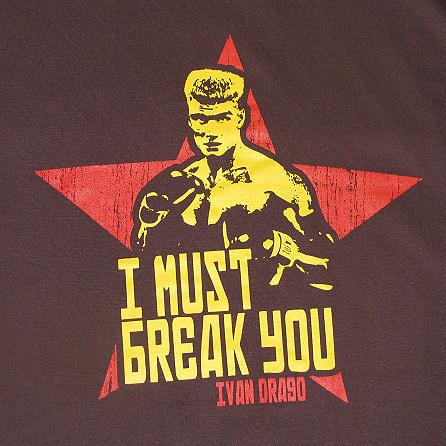 Ivan drago i must break you ivan drago t shirt from beer