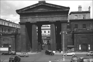 074-Euston Arch in the 1950's | by Warsaw1948