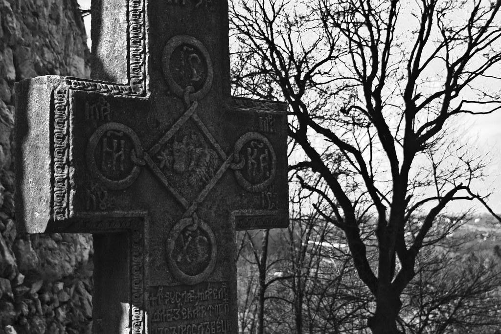 Cruz del castillo de Bran