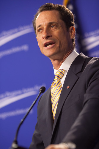 Rep. Anthony Weiner | by Center for American Progress Action Fund