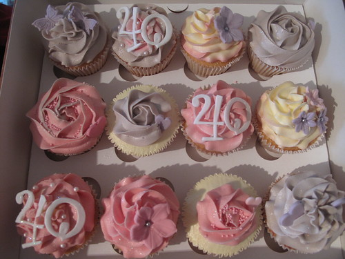 40th Birthday Cucpakes | by Sadie's Cupcakes