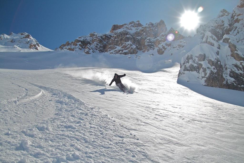 Creste Bianche-Cortina D'Ampezzo-March 2010