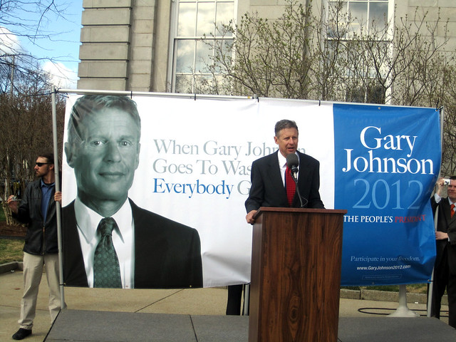 Gary Johnson in Concord