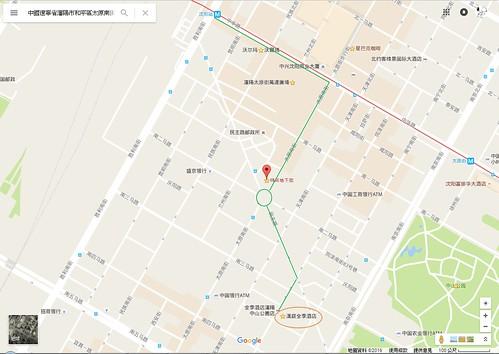 瀋陽車站行程