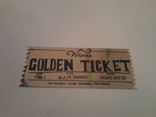 Golden Ticket | by Derek Lakin