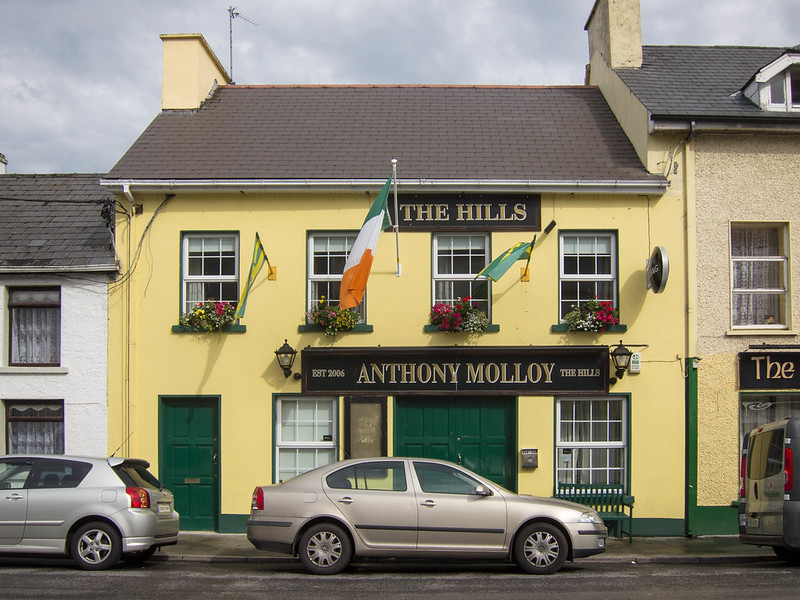Pub in Ardara, Ireland