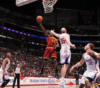 JJ Layup vs. Clippers | by Cavs History