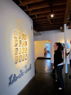 Opening night of 'This is Forever' + 'Split Ends' at Thinkspace - April 2011 | by thinkspace_gallery