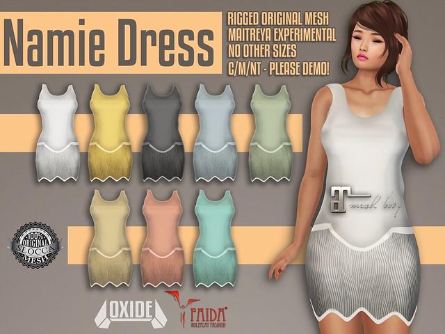 OXIDE x FAIDA Namie Dress @ SaNaRae