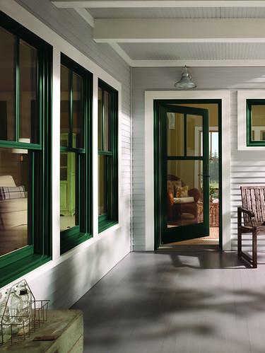 400 series windows and patio door with exterior trim flickr for Andersen window 400 series