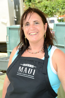 Chef Ann-Marie Burtell at #MauiAgFest | by Slow Food Maui