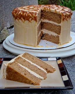 Caramel Apple Cake | by djwtwo