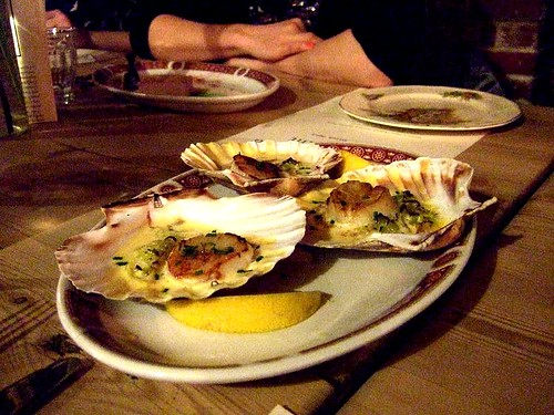 Goods Shed scallops | by aforkful