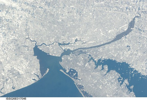 New York City in Winter (NASA, International Space Station, 01/09/11) | by NASA's Marshall Space Flight Center