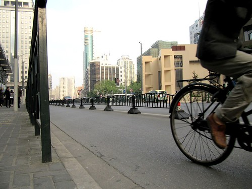 Shanghai bike lane | by James D. Schwartz