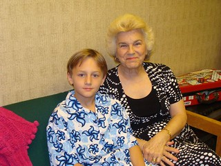 Evan and mamaw | by delmccouryband