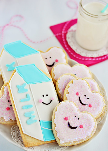 Milk & Cookie Cookies | by Sweetapolita