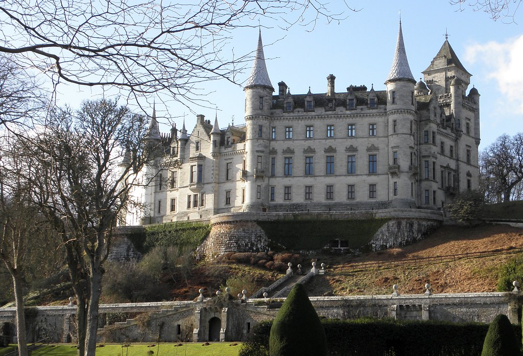 Château de Dunrobin, près de Golspie dans le Sutherland (Highlands) Photo d'IrenicRhonda via Flickr | Creative Commons