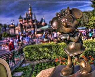 Disneyland Minnie and Castle | by adamcfink