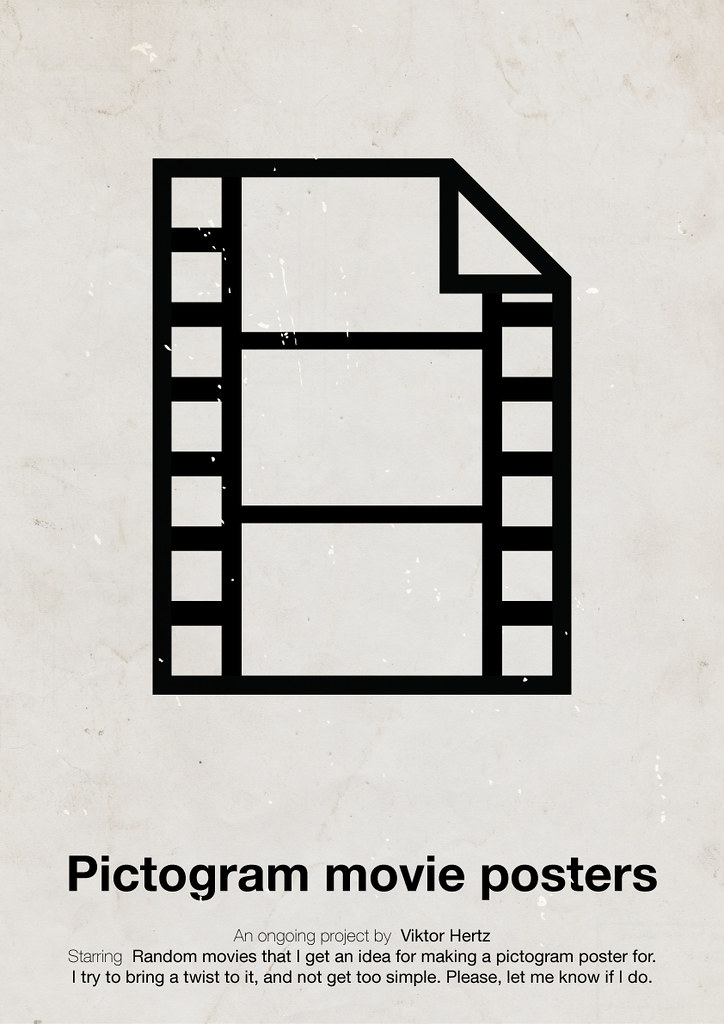 pictogram movie posters flickr