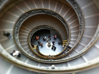 Vatican Museum Spiral Stairs | by The Hamster Factor