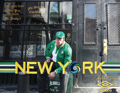 The New York Cosmos - McSorley's, Manhattan | by umbrofootball