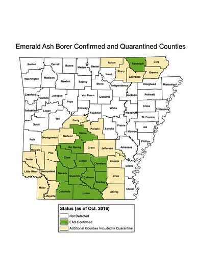 Expanded EAB Quarantine Map Oct 2016