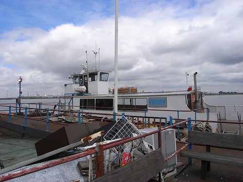 Gravesend ferry | by fred pipes