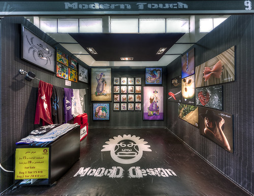 Modern Touch Booth | by TJ.Photography