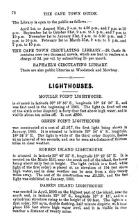 Libraries (cont) and Lighthouses | by HiltonT
