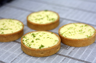 jacques genin lime tartlets | by David Lebovitz
