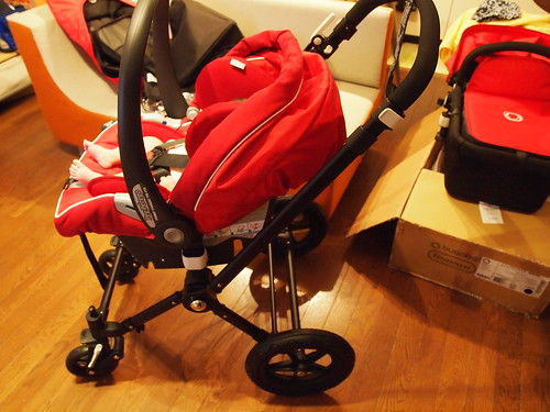 Bugaboo Peg Perego Car Seat Adapter Instructions