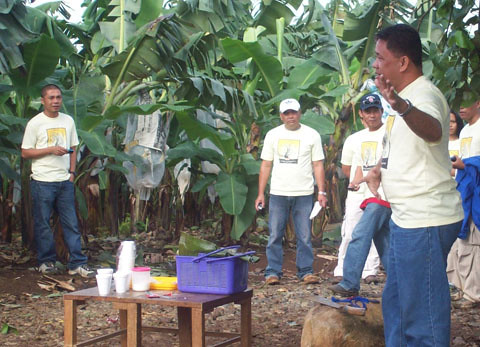 With Coffee Farmers in Bukidnon | by DoleSustainability