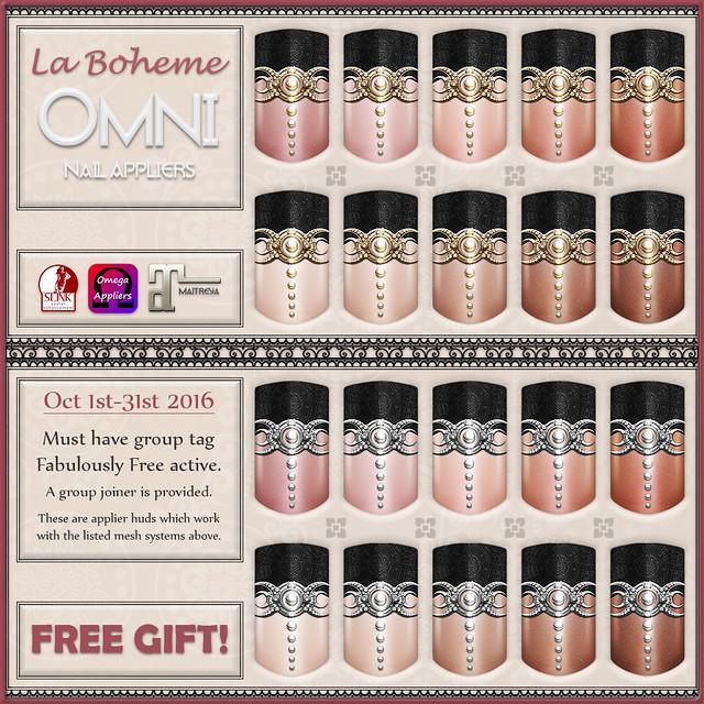 La Boheme Gift - Fabulously Free - Oct 2016