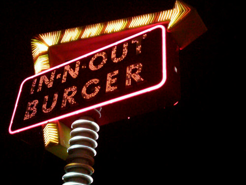 In Out Burger Vegas Sign | by J. Jeff Rose