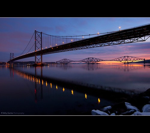The Forth Road and Rail Bridge | by Billy Currie