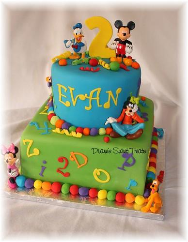 Happy Birthday Evan Cake