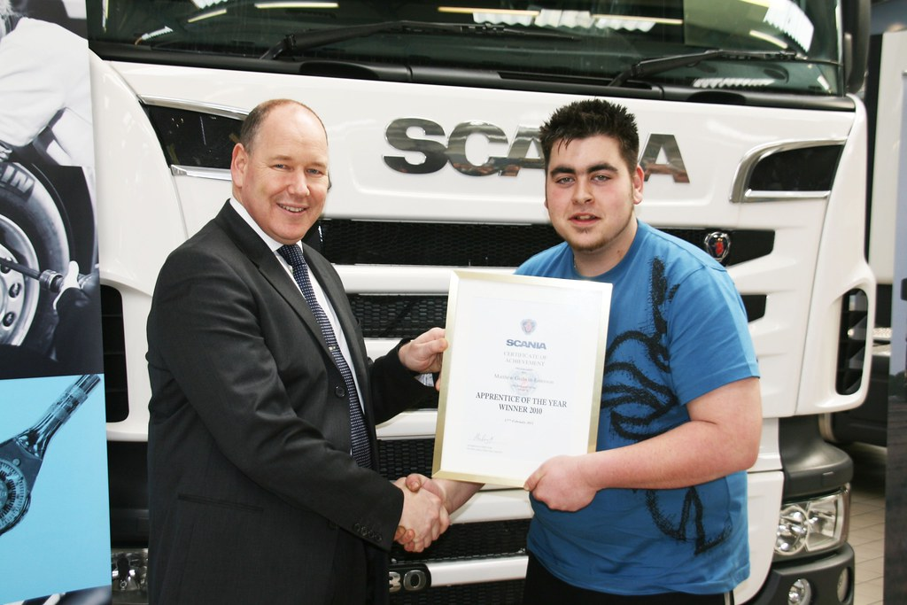 #Keltruck #Scania apprentices