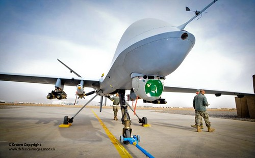 Reaper Remotely Piloted Air System (RPAS) | by Defence Images