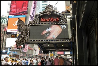 Hard Rock Cafe  Times Square | by Trevor Buckland