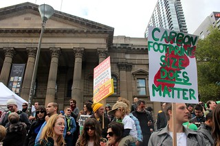Carbon Footprint: size does matter - Melbourne World Environment Day 2011 | by John Englart (Takver)