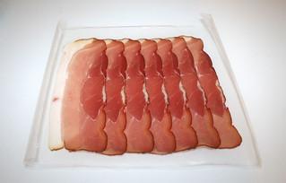 10 - Zutat Schwarzwälder Schinken / Ingredient Black Forest ham