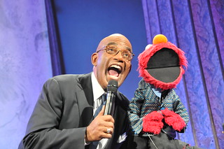 Al Roker and Elmo | by ALZHEIMER'S FOUNDATION OF AMERICA EVENTS