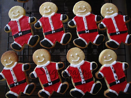 Christmas Cookies: Santa