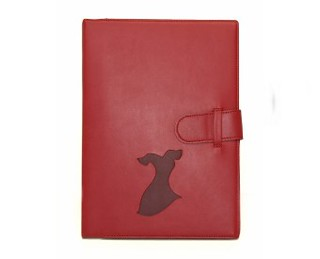 Go Red Leather Journal | by Latina On a Mission