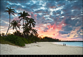 Sunset at the Reef - Paradise Island Beach, Nassau Bahamas | by Dave Allen Photography